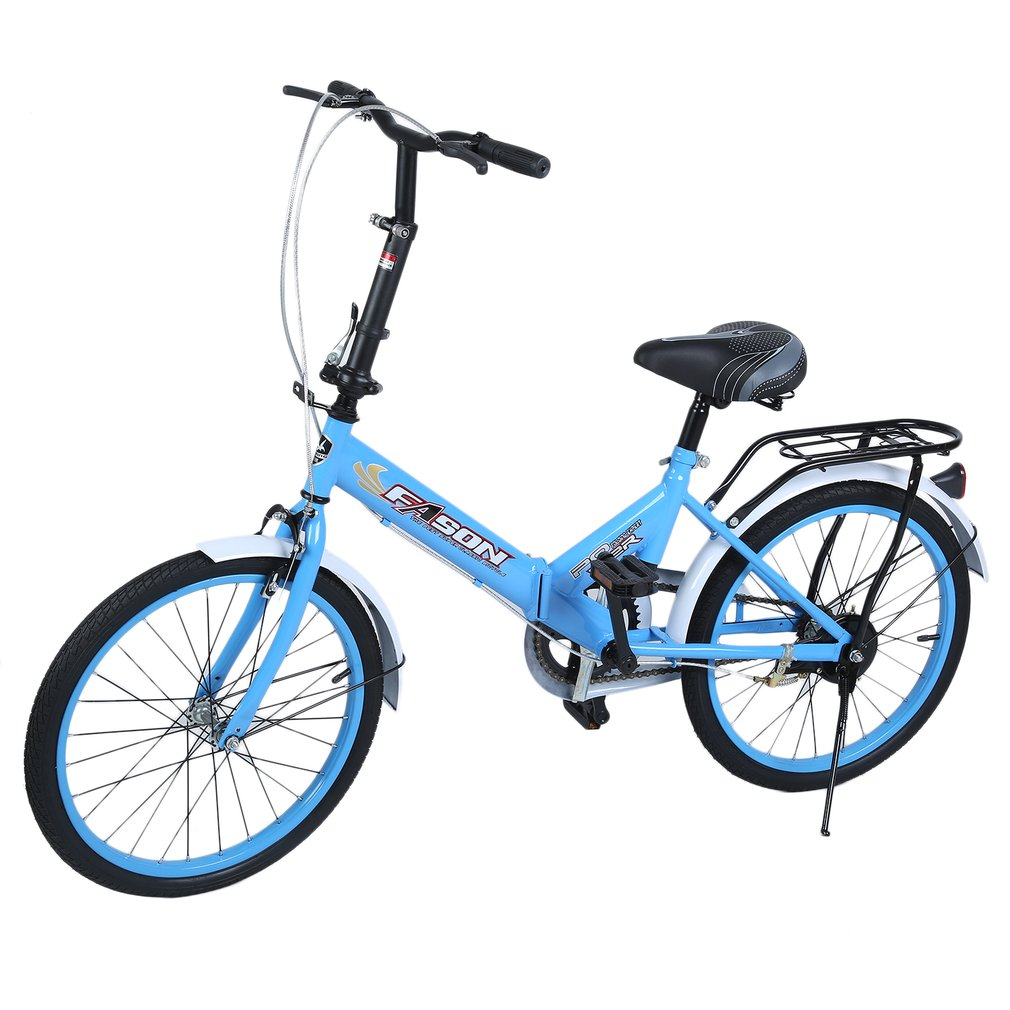 20 inch single speed folding bike students bike subway Outdoor bicycle