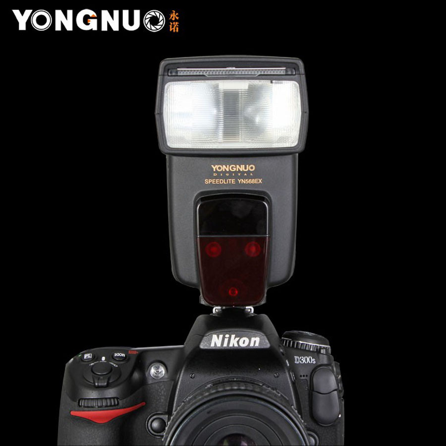 YN568EX for Nikon YN-568EX YN 568 EX HSS Flash Speedlite for nikon D800 D700 D600 D200 D7000 D90 D5200 D5100 D5000 D3100 ex 156 sbr suppressor flash hider for m4 black
