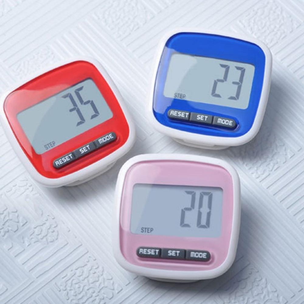 Multi-funktion Mini Wasserdichte Digital Schrittzähler Schritt Bewegung Kalorien Zähler Kleine Und Licht Speicher Funktion Direktverkaufspreis Fitnessgeräte