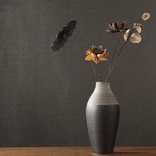 Nordic Creative Abstract ceramics vase tabletop large Handmade artwork Living room furnishings Arrangement home decor Vases