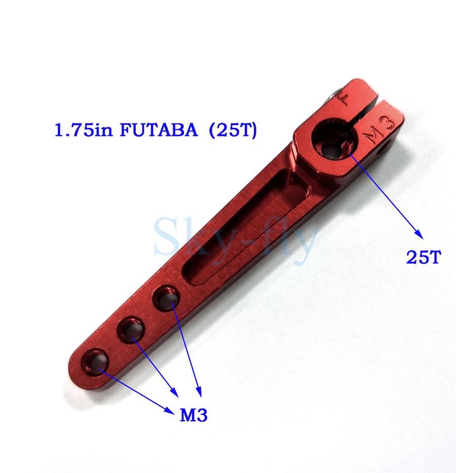 6063 Servo Arm Alu Schwere Servo Horn Halb Arm 1,75