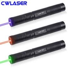 CWLASER Мощный 10000-20000 м горящий лазер 301 405nm фиолетовый/532nm зеленый/650nm красная лазерная указка Лидер продаж лазерный