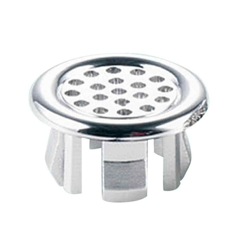 1PC High Quality Sink Round Ring Overflow Spare Cover Tidy Chrome Trim Bathroom Ceramic Basin Overflow Ring