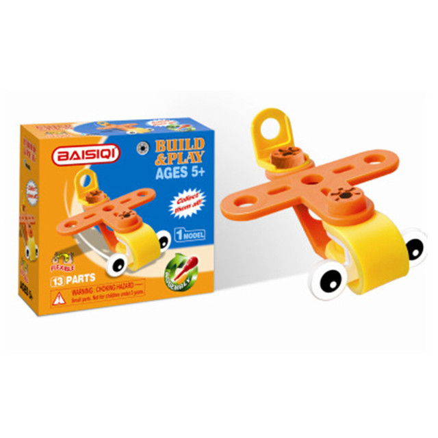Creative Building Blocks Toy Nut Assembly Educational Toys – 5 Models