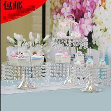 High-grade crystal clear cake afternoon tea center imported acrylic dessert shelf цена