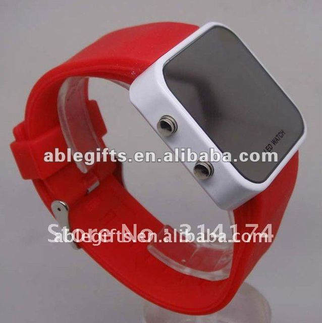 new fashion silicone man watch men