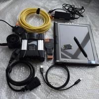 Новое поступление для bmw icom next с новейшим программным обеспечением супер ssd с ноутбуком le1700 таблетки супер ультра тонкий cpu L7400 ОЗУ 4 г touch