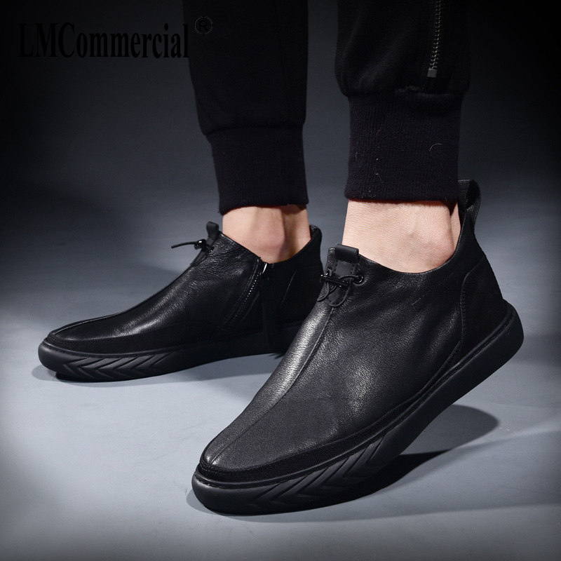men's Genuine Leather casual shoes spring autumn summer men loafer shoes male Driving shoes soft all-match cowhide breathable vesonal driving brand genuine leather casual male shoes men footwear adult 2017 spring autumn comfortable soft driving for man