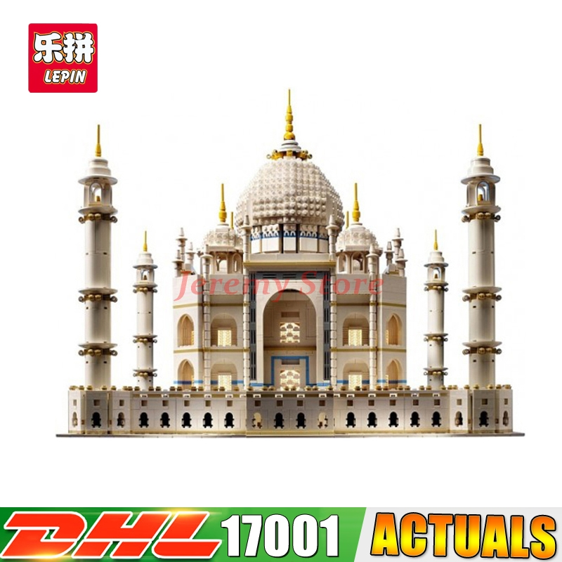 2017 IN STOCK Free shipping New LEPIN 17001 5952pcs The taj mahal Model Building Kits Brick Toys 10189 Christmas Gift