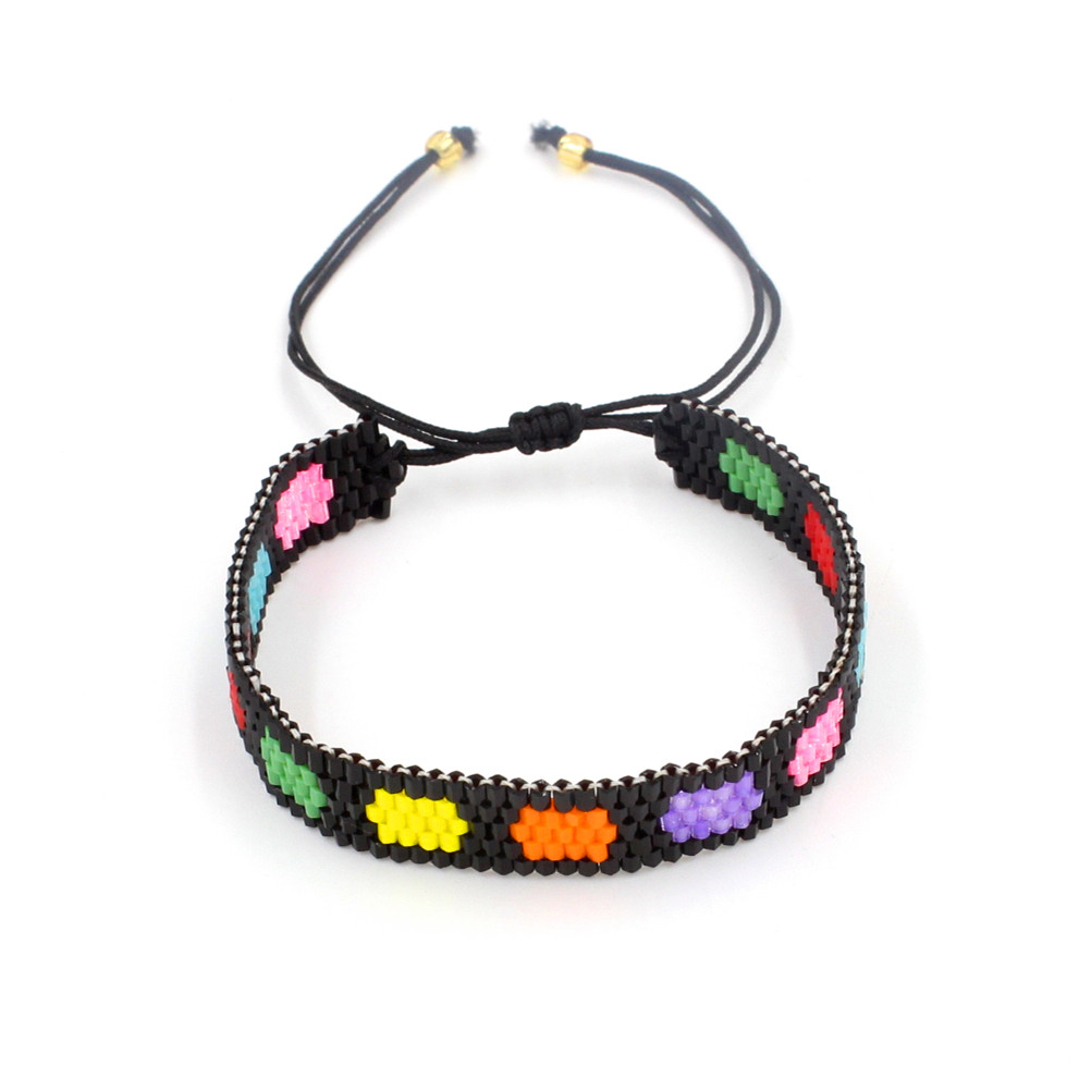 PW Ishay Mini Colorful Cute Romantic Seed Beads Bracelet for women Fashion jewelry Charm Glass beads bracelet pulseiras mujer блузка quelle baon 1007733