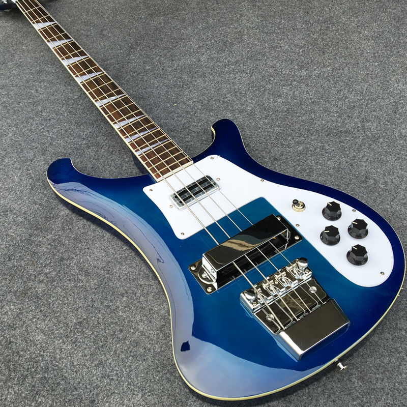 blue burst color electric bass guitar 4 strings bass guitarra high quality all color are. Black Bedroom Furniture Sets. Home Design Ideas