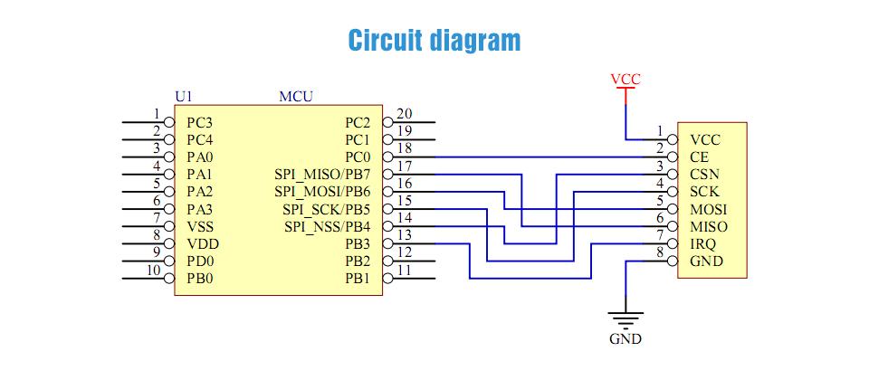 E01-ML01S nRF24L01 PA PCB Module (5)