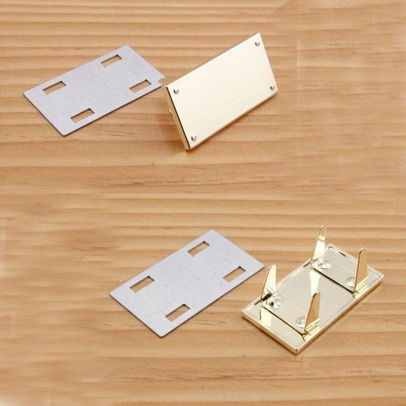 Light gold blank logo tag ,Purse tag 45mmx23mm nokia 515 light gold