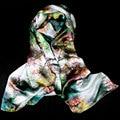 100% Silk Magic Pashmina Women Silk Blouse 2017 Hot Multipurpose Pashmina Top Shawl Silk Wrap Silk Scarf Luxury Gift for Lady