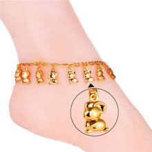 U7 Foot Jewellery Bracelet On The Leg Yellow Gold/Platinum Plated Summer season Jewellery Cute Jerry Mouse Anklets For Ladies Present IA931