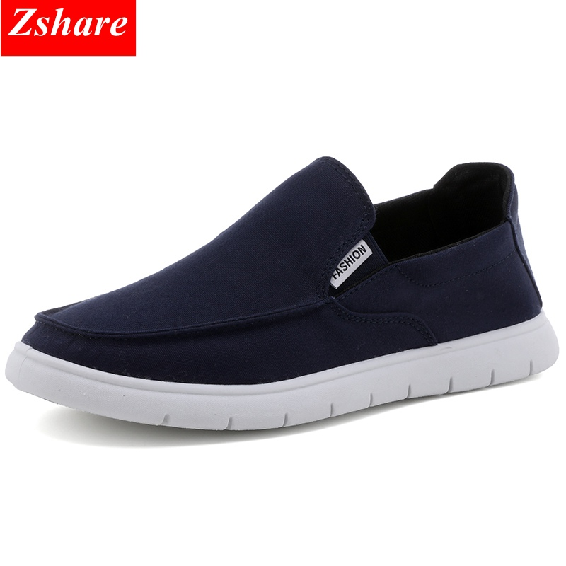 2019 Summer Shoes Men Casual Shoes Slip On Mocassin homme Breathable Canvas Shoes Man Loafers Men Driving Flats Chaussures homme in Men 39 s Casual Shoes from Shoes