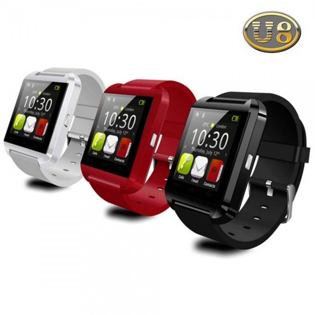 Bluetooth Smartwatch U8 U Smart Watch For Samsung S4 Note 3 HTC Android Phone Smartphones