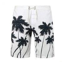 Mens Hawaiian Shorts Quick Dry Summer Fashion Men Beach Shorts Board Shorts Free Shipping Size M
