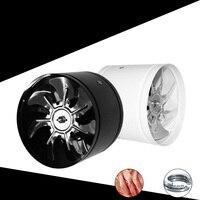 Duct fan air ventilator metal pipe ventilation exhaust fan mini extractor bathroom fan wall fan 150mm 220V ITAS9901A