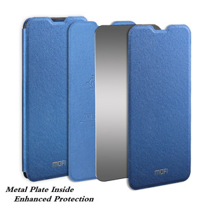 Image 2 - Case for Huawei P30 Pro Cover MOFi P30 Lite Flip Nova 4E Housing P30 Coque TPU Capa PU Leather Book Stand P30pro Folio