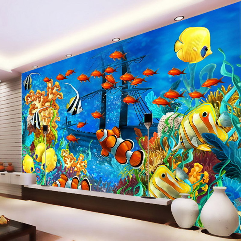Compare prices on ocean wall murals online shopping buy for Cost of a mural