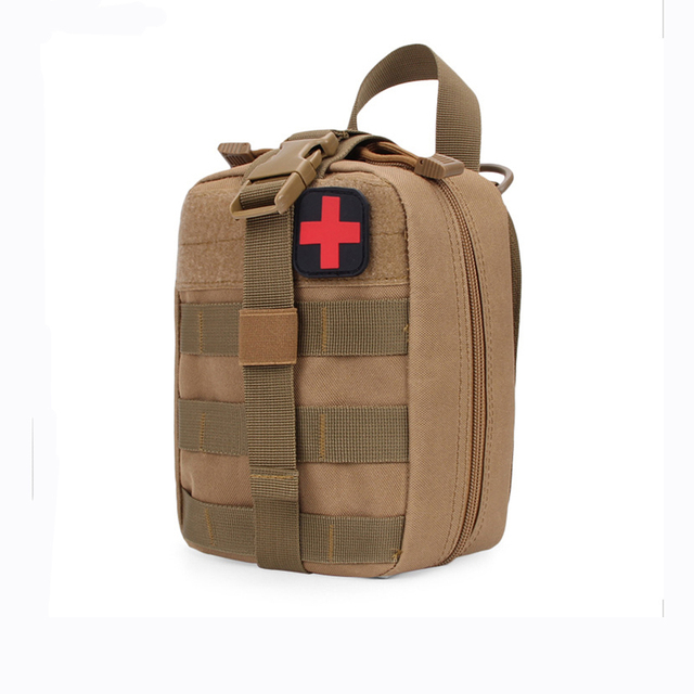 Hiking EDC Molle Tactical Pouch Bag Emergency First Aid Bag survive Kit Package Travel Outdoor Camping Climbing Medical Kits Bag