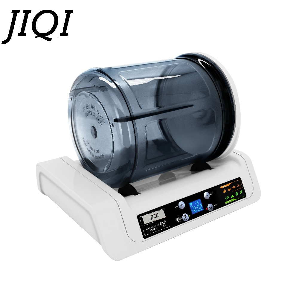 JIQI Electric Vacuum Food Marinator Processor Mini Tumbling Maker Pickled Meat Tumbler Barbecue Fried Chicken Bloating Machine