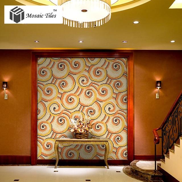 com buy bisazza mosaics glass flower pattern interior