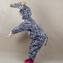Umorden niños niñas niños de dibujos animados Animal cebra caballo Cosplay  traje de mono de Día de los niños disfraces de Hallow. 1dc6cc921d34
