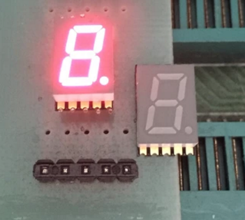 10PCS New And Original SMD 1 Bit 0.3 Inch Digital Tube LED Display Red  Light 7 Segment Common Anode/Cathode