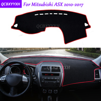 For Mitsubishi ASX 2010 2017 Dashboard Mat Protective Interior Photophobism Pad Shade Cushion Car Styling Auto Accessories