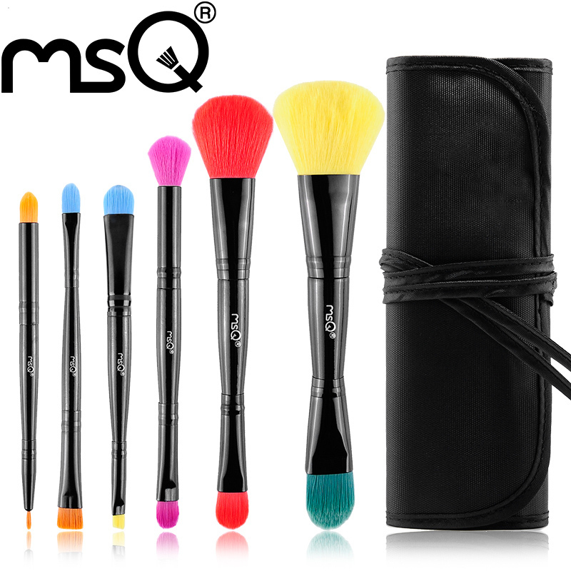 Travel Multi-Function Professional Make Up Brushes Tools, Soft Eyeshadow Powder Blush Foundation Brand Makeup