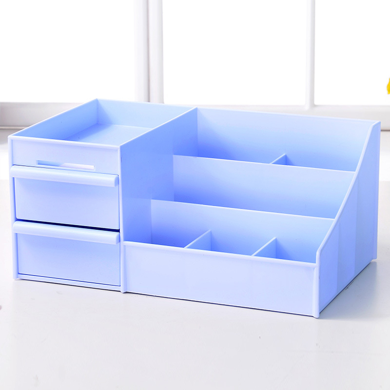 SEREQI High Quality Plastic PP Cosmetics Storage Box Makeup Organizer  Holder Storage Drawers Jewelry Display Box Container Case In Storage Boxes  U0026 Bins From ...