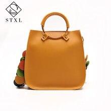 Stxl Для женщин топ-ручка Сумки женские дизайнерские 2 шт. композитный мешок женщин кожаные сумки PU сумочка кожаная женская сумка(China)