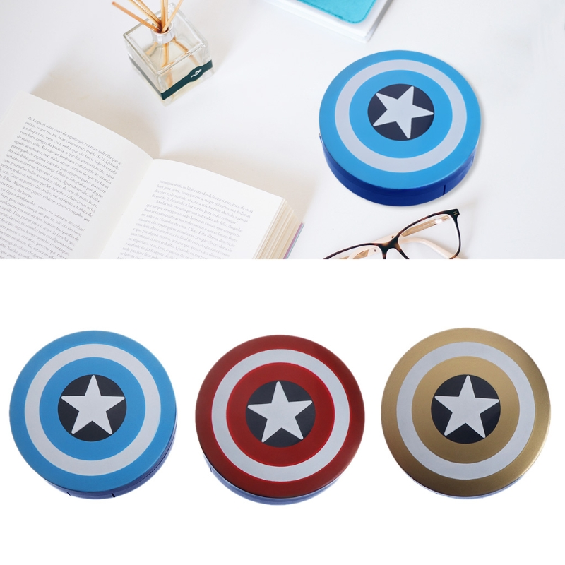 Random Color 1set 2018 Fashion Cute Cartoon Contact Lens Travel Case Box Holder Storager Portable Accessaries