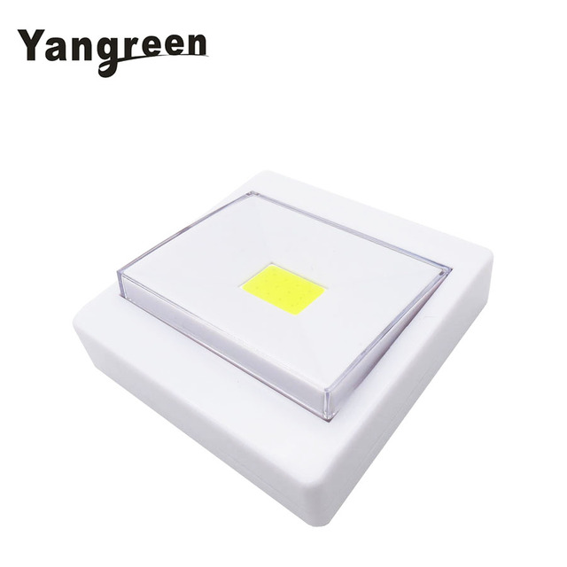 Cob led magnetic switch night light battery operated cordless under cob led magnetic switch night light battery operated cordless under cabinet lighting with magnetic sticker mozeypictures Image collections