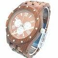 Moda Sazonal De Madeira Mens Relógios de Marca de Relógios De Luxo 2016 Mais Novo Movimento Japão Homens Grandes Relógios De Pulso De Madeira Da Zebra com Giftbox
