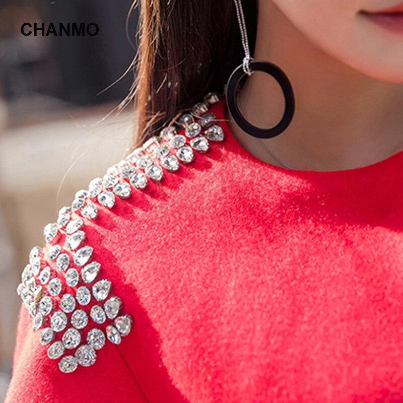 Diamanti collo Inverno Cappotto Lana colore Miscela E rosso Giacca Rosa O Elegante Di Grigio Cappotti Moda Femenino rnYcqW5wrH