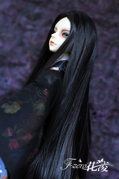 New Arrival 1/3 9-10BJD Wig High Temperature Wire Four Colors Long Straight Beautiful Style Wig For BJD Hair new 1 3 1 4 1 6 bjd wig short blue hair high temperature wire for 1 3 1 4 1 6 bjd sd dollfie