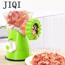 JIQI High Quality Multifunctional Home Manual Meat Grinder For Mincing Meat/Vegetable/Spice Hand-cranked Meat Mincer Sausage