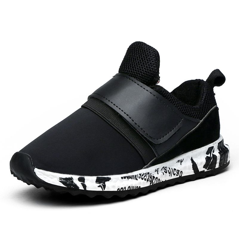 2017 Musim Semi Musim Gugur Anak Sepatu Anak Laki-laki Dan Perempuan Sepatu Fashion Datar Nyaman Mesh Bernapas Anak Sneakers Sepatu Olahraga