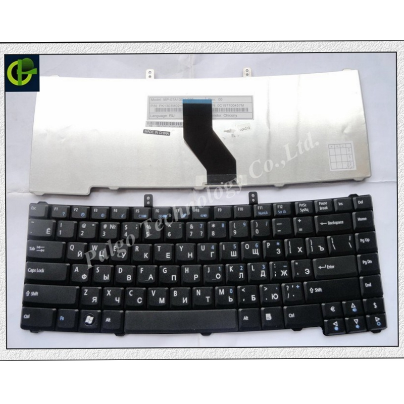 Russian Keyboard For Acer Extensa 4220 4230 4420 4630 5220 5520 5230Z 5620 TRAVELMATE 4520 5710 4520 5710 5720 7320 RU Black