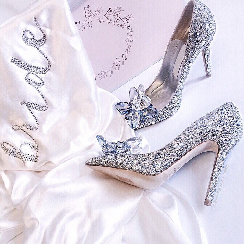 Aliexpress.com : Buy Teahoo Crystal Wedding Shoes Women