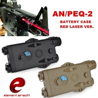 عنصر الادسنس AN/PEQ 2 بطارية حالة الأحمر الليزر النسخة Softair 20mm السكك الحديدية التكتيكية PEQ صندوق بطارية EX426-في أضواء السلاح من الرياضة والترفيه على
