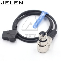 DTAP to XLR 4pin female for  xlr 4pin monitor power cable, ROLAND EDIROL R88 power