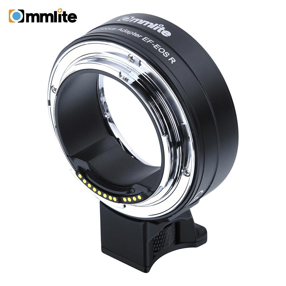 BEESCLOVER Commlite  EF/EF-S AF Lens Mount Adapter For Canon EF/EF-S Lens To EOSR RF-Mount Full-frame Camera Mount Adapter R25
