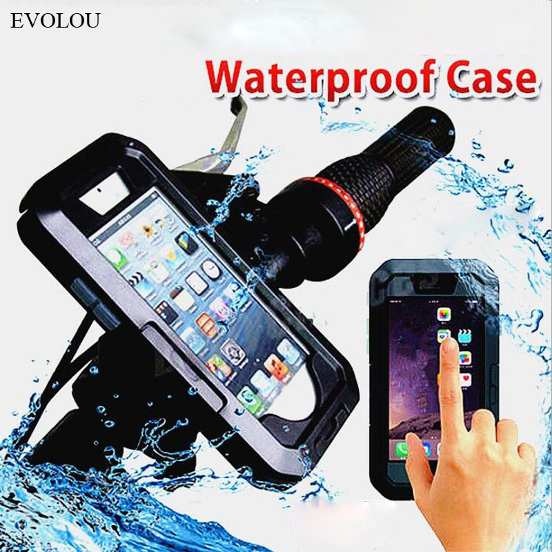 Waterproof Bicycle Motorcycle <font><b>Phone</b></font> <font><b>Holder</b></font> <font><b>Bike</b></font> <font><b>Phone</b></font> Bag for <font><b>Samsung</b></font> <font><b>S9</b></font> S8 Plus S7 S6 Edge Outdoor Armor <font><b>Phone</b></font> Cases Scooter image