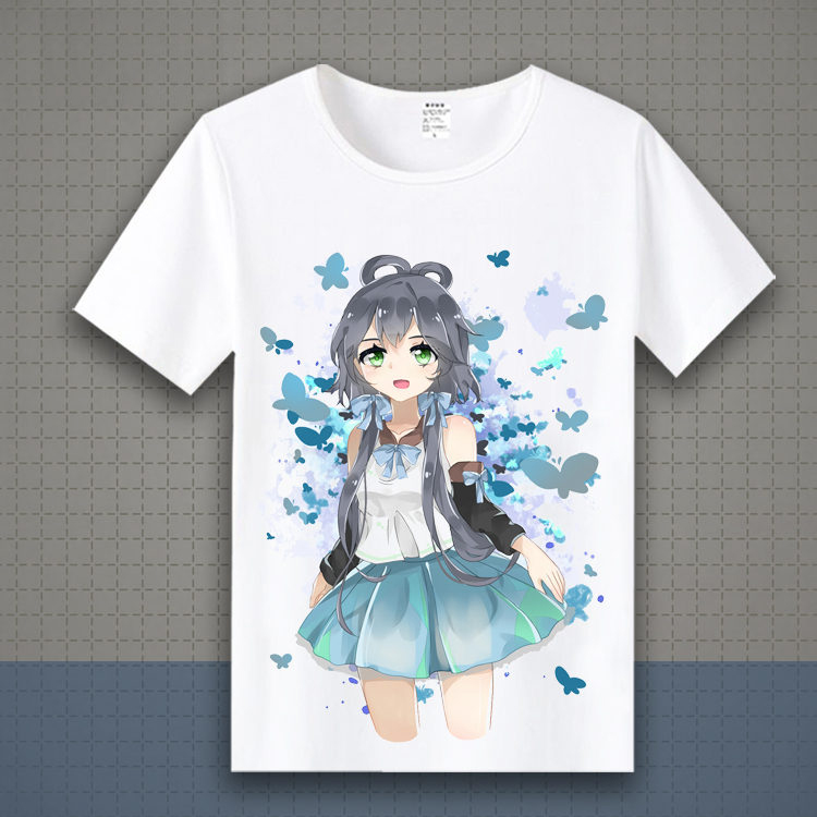 New vocaloid Hatsune Miku T Shirt Anime Japanese Famous Animation Novelty Summer Men's T-shirt Cosplay Costume Lovely Cute TX149