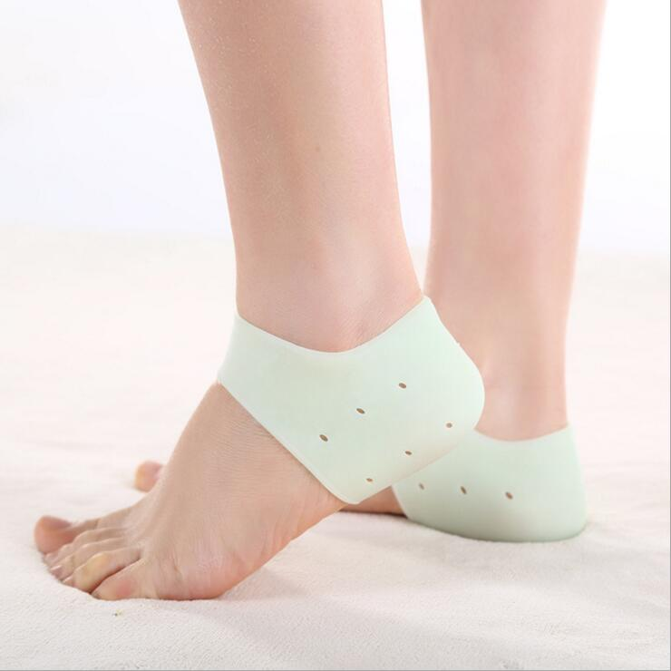 New Delicate Silicone Moisturizing Gel Heel Socks Like Cracked Foot Skin Care Protector MR0037