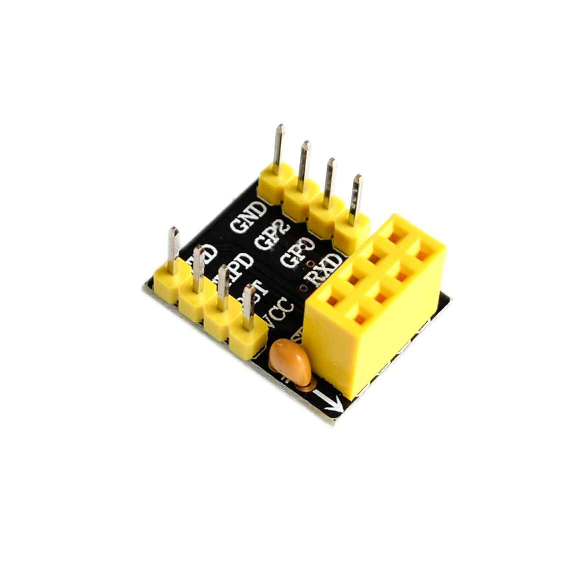 For ESP-01 Esp8266 ESP-01S Model Of The ESP8266 Serial Breadboard Adapter To WiFi Transceiver Module Breakout UART Module